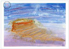 Art Greeting Card - Energy Vortex